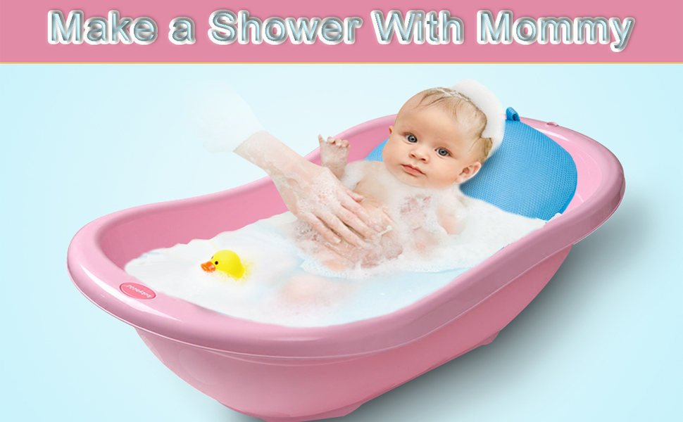 Amazon.com: Asunflower - Almohada para bañera de bebé, suave ...
