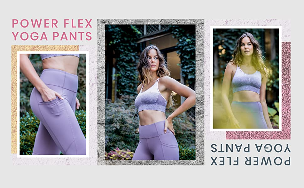 8d61c31fd5 Amazon.com: 90 Degree By Reflex Womens Power Flex Yoga Pants: Clothing