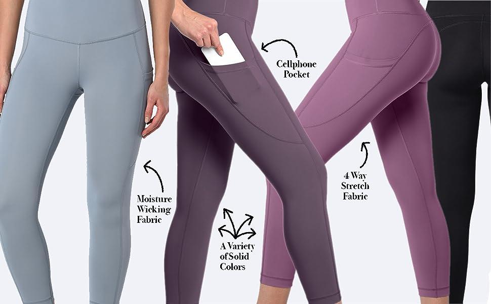 Amazon.com: Reflex - Leggings para yoga (90 grados, a prueba ...