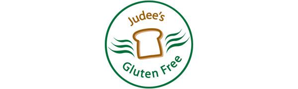 Judee's Gluten Free Logo Gluten and Nut Free Facility