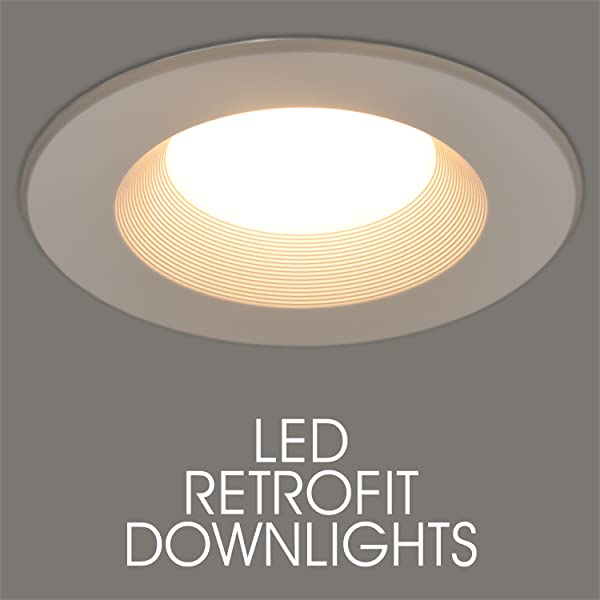 900 Lumens 6 Quot Inch Maxxima Dimmable Led Retrofit Downlight