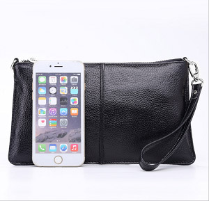eaa5f500515b Lecxci Leather Crossbody Purses Clutch Phone Wallets with Card Slots ...