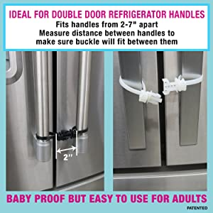 Amazon Com Kiscords Baby Safety Cabinet Locks For Knobs