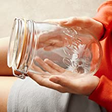 Le Parfait glass jar preserving clamp lid made in france quality airtight durable best top seal