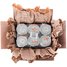 Glass Jar in carton preserving environment zero waste frustration free cardboard recycle compostable