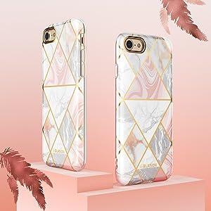 i-Blason Cosmo Lite Case for iPhone SE 2020 7 8 lightweight slim stylish fashion girly case