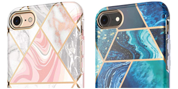 i-Blason Cosmo Lite Case for iPhone 7 8 lightweight slim stylish fashion girly case