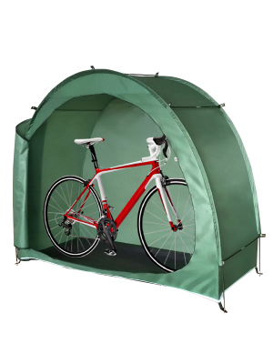 Bike Tent Outdoor Anti-Dust Waterproof 190T Bicycle Tricycle Storage Shed Cover