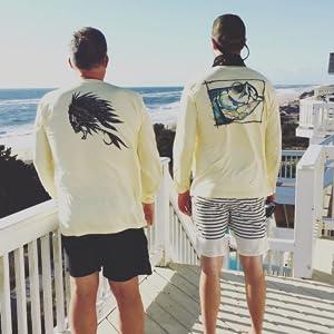 mens fishing apparel shirt UPF