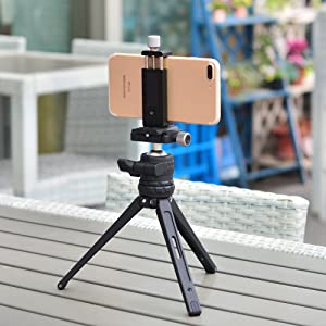 metal mini tripod