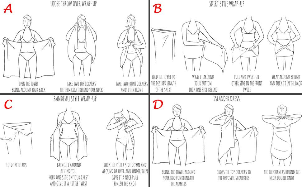 How to use Peshtemal Towel