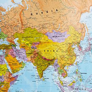 Amazon Com Maps International Giant World Map Mega Map Of The