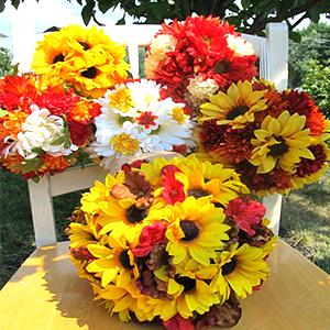 sunflowers ball