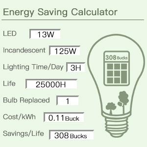 A19 100-125 watt