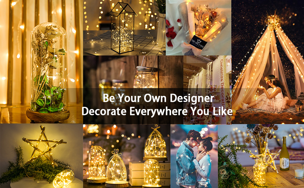 innotree LED string lights to decorate your own style of life.