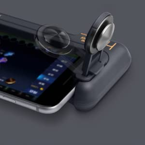 GEE·D H1 Joystick Phone Game Controller with Phone Stand Holder,  Comfortable Hand Grip Mobile Joystick Gamepad Gaming Joystick Game  Controller Case