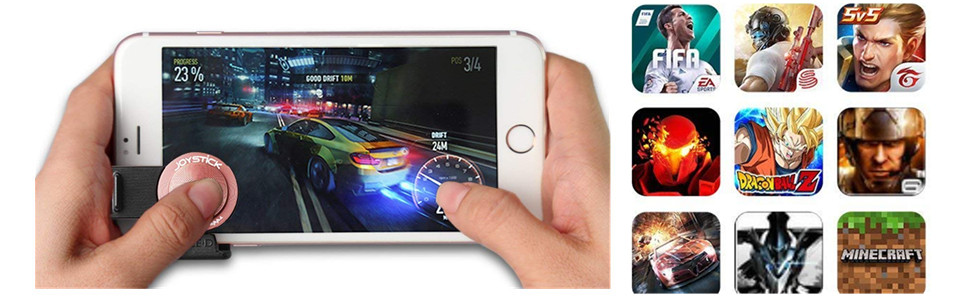 GEED mobile game joystick