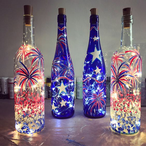 bottle lights with cork