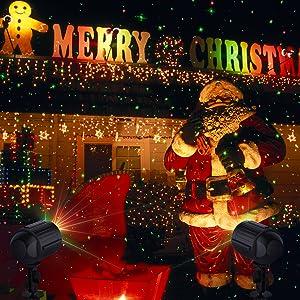 Amazon Com Laser Lights Christmas Led Projector Star