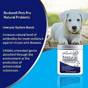 Rockwell Pets Pro Natural Probiotics