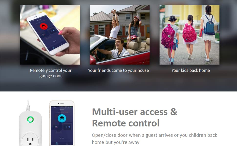 Multi use access remote control