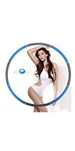 weighted hoola hoop for adult woman