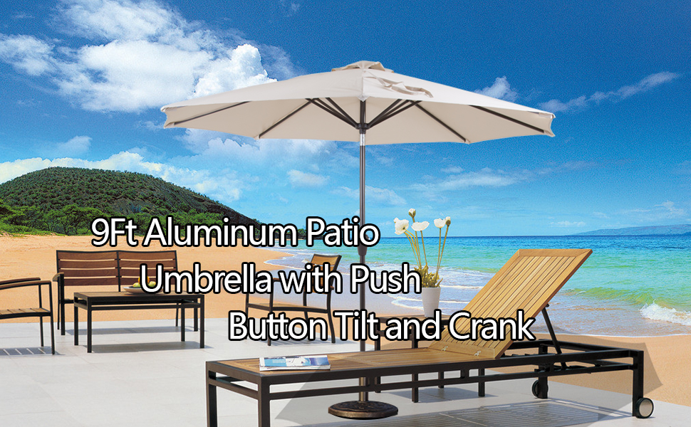 Wonderful Beautiful 9u0027 Patio Umbrellas To Enjoy Cool Breeze!