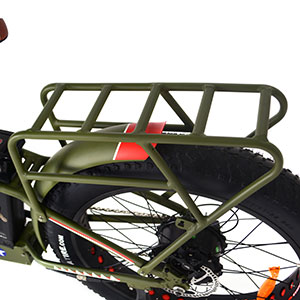 removable rear luggage rack stiff carrier durable strong bike rack