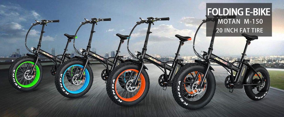 Amazon.com : Addmotor Motan Electric Bikes Foldable E