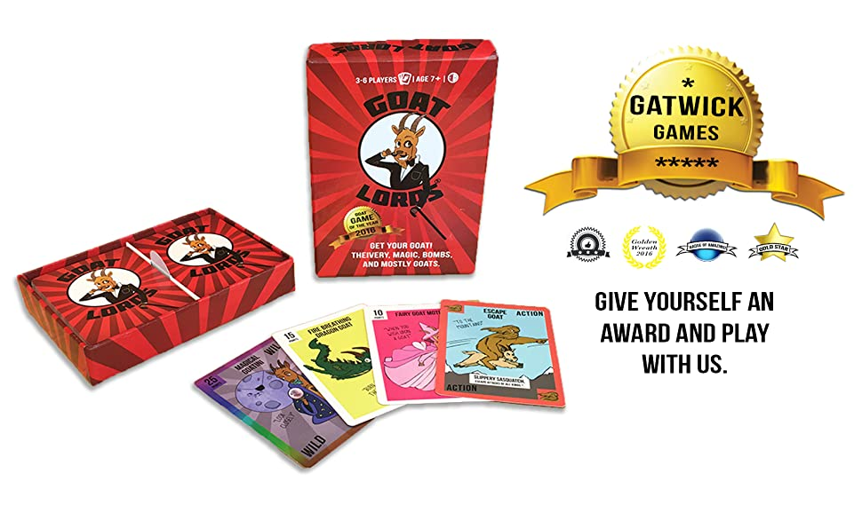 Amazon.com: Goat Lords – Juego de cartas Hilarious y ...
