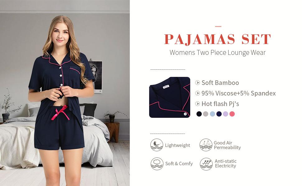 womens pajamas set