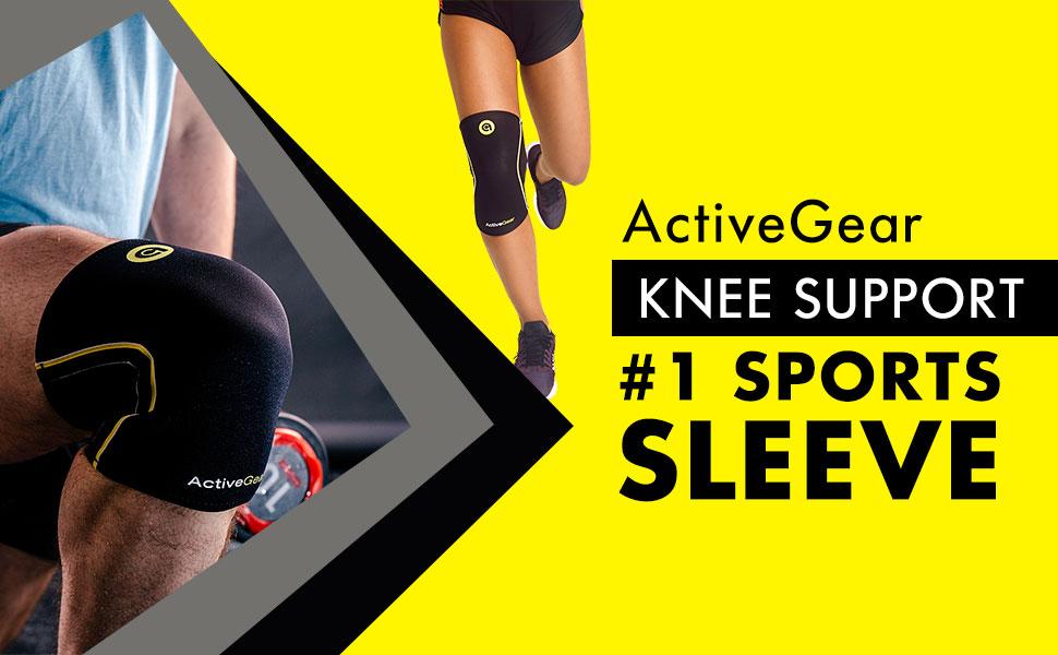 a7352b07ea Amazon.com: ActiveGear Knee Brace Support Heavy Duty Neoprene Sport ...