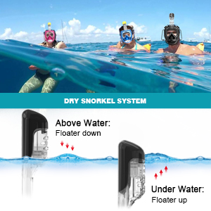 snorkeling mask full face full face snorkeling mask full face snorkel mask scuba masks. GOPRO MOUNT