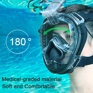 snorkeling mask full face full face snorkeling mask full face snorkel mask scuba masks
