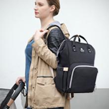 Hafmall Diaper Bag Backpack, Waterproof Diaper Tote Bag for Mom and Dad