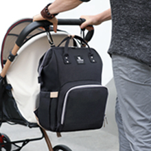 Hafmall Baby Backpack Diaper Bag with 2 Stroller Straps