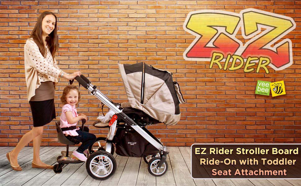Amazon Com Vee Bee Ez Rider Stroller Ride On Board