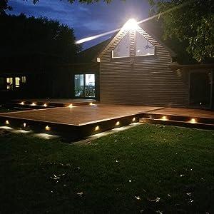 LED deck lights