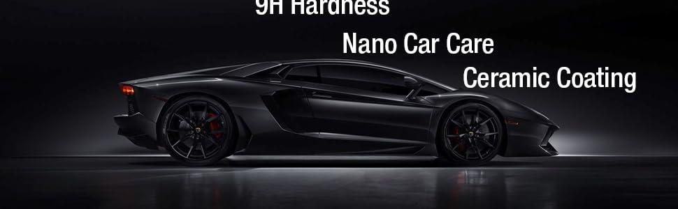 ciramic coat ceramics exterior cleaner auto detailing kit car paint sealant protection polish nano