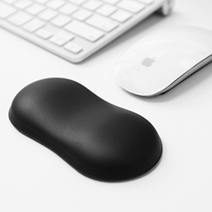 leather mouse pad wrist support keyboard keyboard pad wrist rest carpal tunnel computer pad