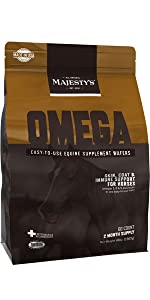 Majesty's Omega Wafer | A Superior Skin, Coat & Immune Support Supplement For Your Horse