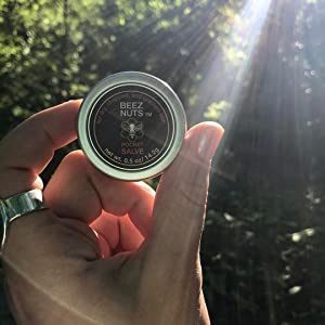 Pocket Salve in the sunlight