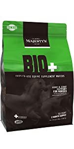 Majesty's Bio+ Wafer | A Superior Hoof & Coat Support Supplement For Your Horse