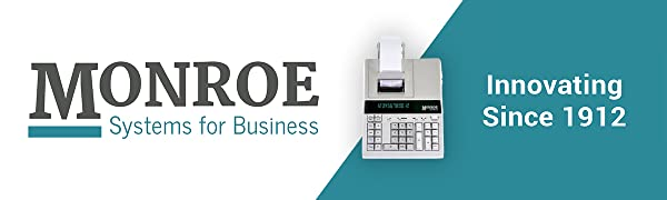 Monroe Systems for Business 2020PlusX Ivory