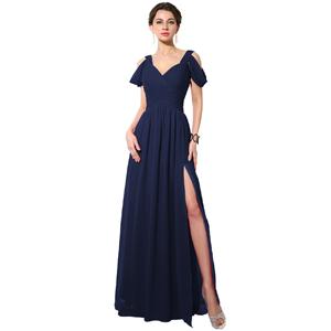 Amazon.com: Sarahbridal Women's Long Chiffon A-line