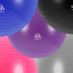 right - yoga ball