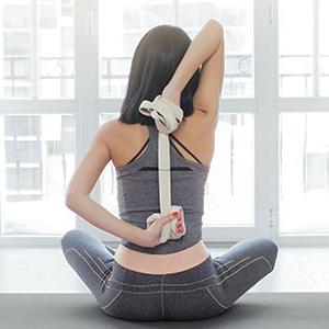 Amazon.com: JBM - Bloque de yoga con correa y anilla de ...