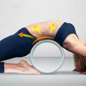 Amazon.com: JBM rueda de yoga para estirar y mejorar la ...