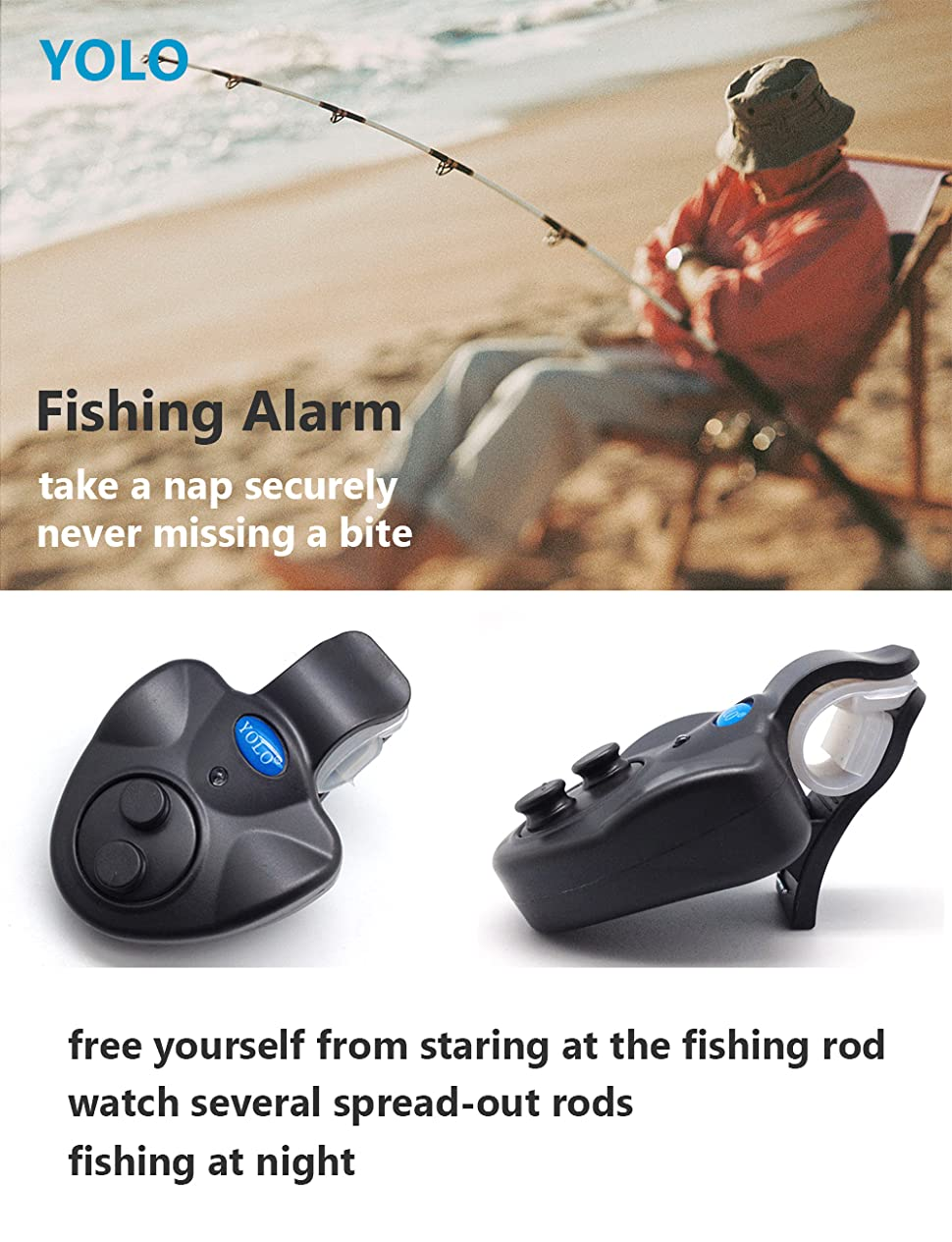 1 Piece Fishing Rod Bite Alarm Rod Holder Bite Lure Display Fishing Accessories