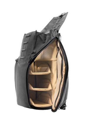 30L Black Backpack Peak Design FlexFold Dividers